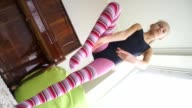 teen girl does some acrobatic [003] video