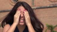 Teen Girl Peek A Boo video