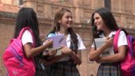Teen Girls Laughing Girls Having Fun video