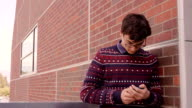 Teen on Cell Phone video