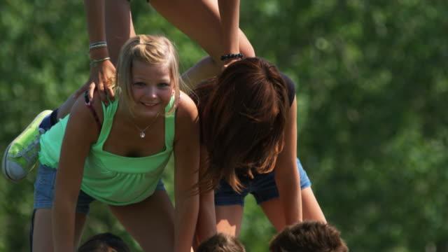 Teen Pyramid video