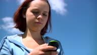 Teen sending SMS video