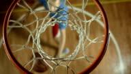 HD: Teenage Basketball Player Practicing Small Forward video