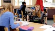 Teenage girl in wheelchair video