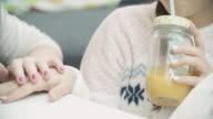 4K: Teenage Girls Sleepover Beauty Treatment. video