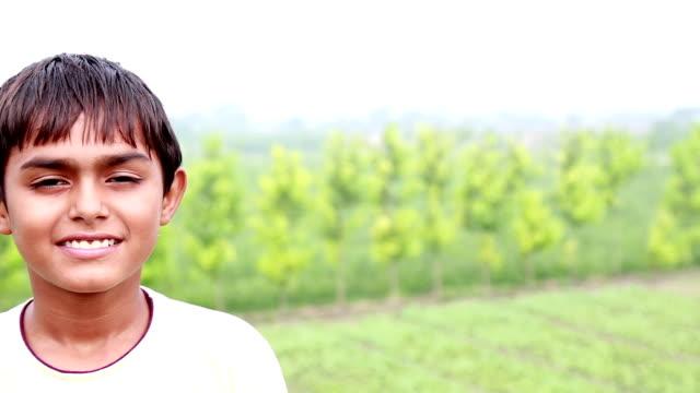 Teenager Boy Smiling video