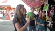 Teens At Carnival video
