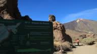 Teide National Park in Tenerife. video