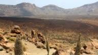 Teide National Park Roques de Garcia in Tenerife video