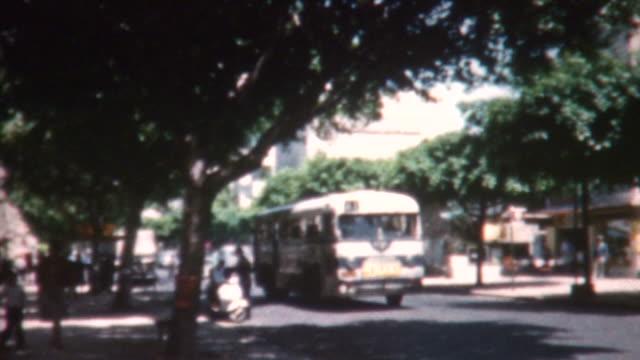 Tel Aviv Street Scene 1962 video