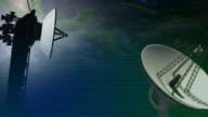 Telecom background video