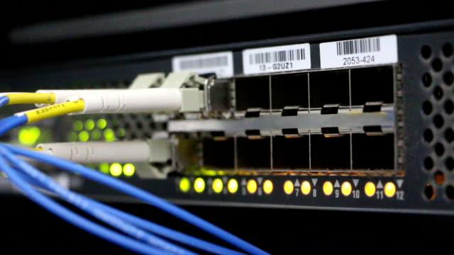 telecommunication data exchange device flickering video