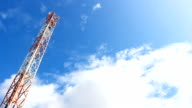 Telecommunication Mast Steel Tower video
