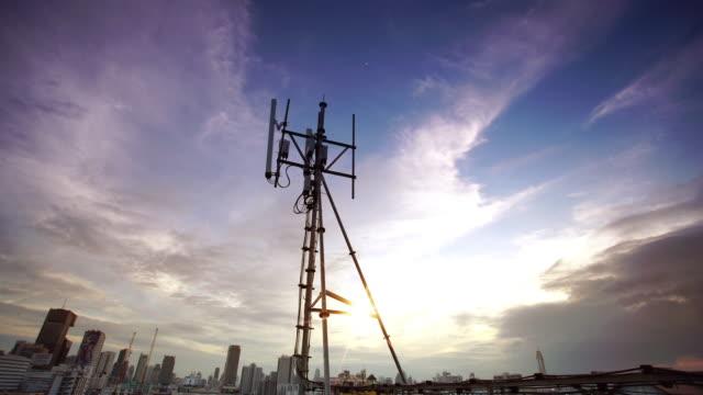 Telecommunication Tower video