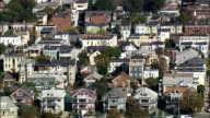Telegraph Hill  - Aerial View - Massachusetts,  Suffolk County,  United States video