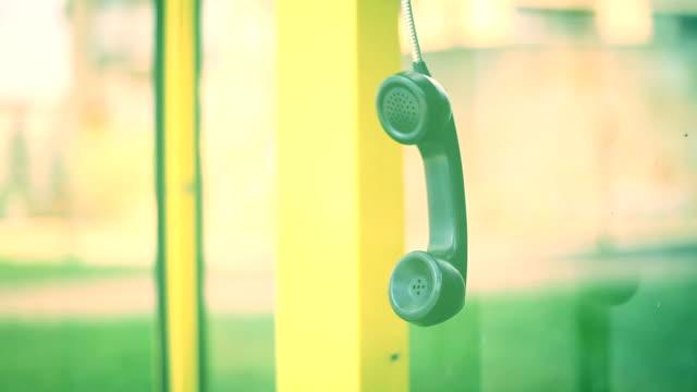 Telephone handset. video