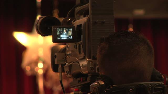 Television Cameraman HD video