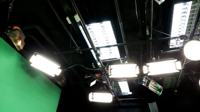 Television studio video