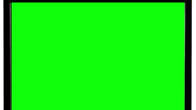 Television Zooming-Out with Black Screen video