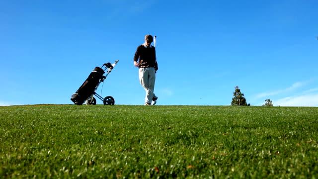 HD: Temperamental Golfer video