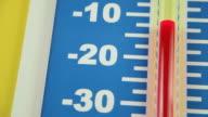 Temperature Getting Colder (Celsius Scale) video