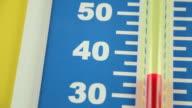 Temperature Heating Up (Celsius Scale) video