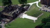 Temple Newsam  - Aerial View - England, United Kingdom video