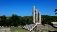 HD: Temple of Apollon Smintheus, Canakkale, Turkey video