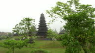 WS Temple Of Besakih In Rain video