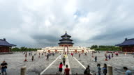 Temple of Heaven crowd timelapse video