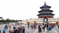 Temple of Heaven time lapse in Beijing video