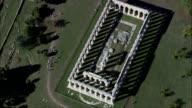 Temple Of Hera, Or the Basilica  - Aerial View - Campania, Provincia di Salerno, Capaccio, Italy video