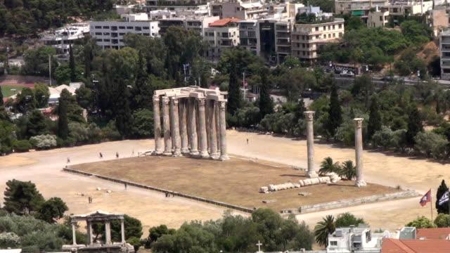 Temple of Olympian Zeus (Athens) video