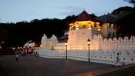 Temple of the Tooth, Kandy, Sri Lanka video
