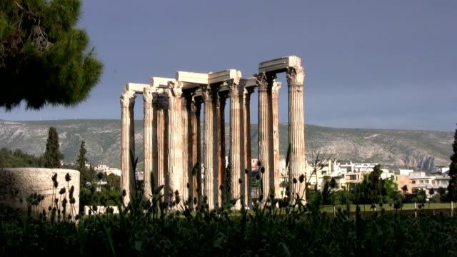 Temple of Zeus, Athens, Greece video