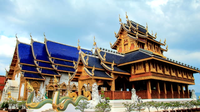 Temples in Chiang mai Thailand video