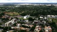 Templo Da Boa Vontade  - Aerial View - Federal District, Brasília, Brazil video