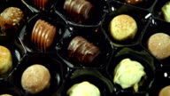 Tempting Box of Chocolates. HD, NTSC, PAL video