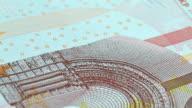 Ten euro bill video