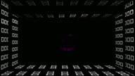 Ten to zeron rainbow colored zooming number count or top ten video