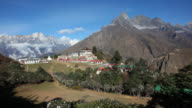 Tengboche Monastery Panorama video