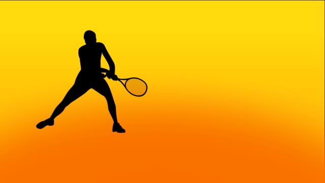Tennis Animation video