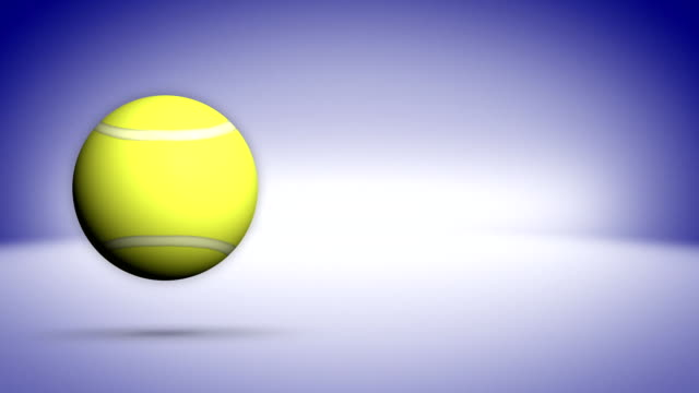 Tennis Ball Background video
