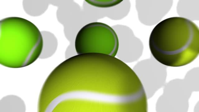Tennis Ball Bounce (HD) video