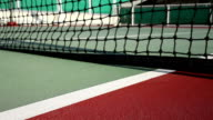 Tennis ball on the court video