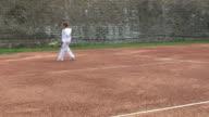 Tennis boy video