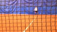 Tennis game video