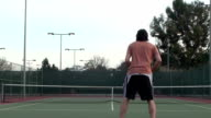 Tennis Match - HD video