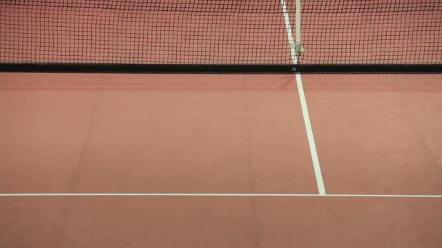 Tennis serve video