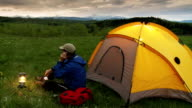 Tenting in the Wilderness video